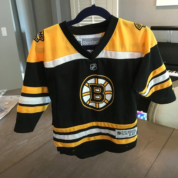 Toddler Bruins home jersey 33aca4865